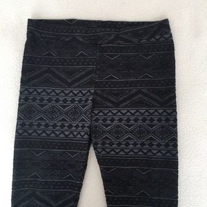 H&M Patterned Leggings